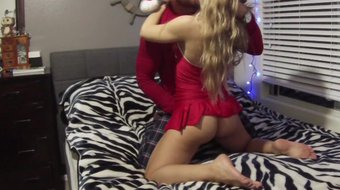 Hot Lost Christmas sex tape with Nicole