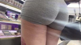 Fine tattooed Latina with booty