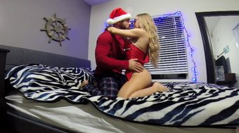 Hot Lost Christmas sex tape with Nicole Aniston