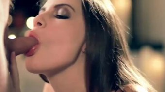 Sultry College Babe Sucking Dick