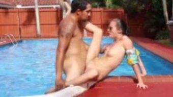 Censored sissy porn Swimming In Semen
