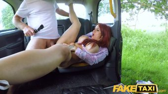 Fake Taxi Jennifer Keelings returns for taxi legends cock