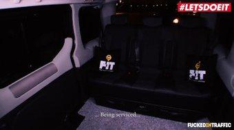 LETSDOEIT - Kinky Czech Redhead Vanessa Shelby Fucked Hard In The Taxi