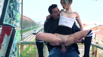 MamacitaZ -I%27ve met The Dirtiest Teen and Fucked Her Near The Train Station