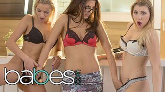BABES - stepmom shows stepdaughter and her gf a thing or two