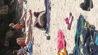 Voyeur plage Majorque