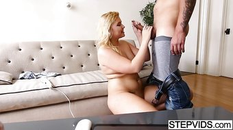 Banging his stunning stepsis Melissa May