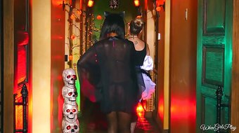 Twistys.com - Naughty halloween games xxx scene with Chanell
