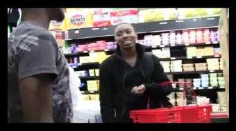 Amateur gets Picked up in SuperMarket
