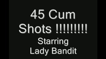 45 cumshots