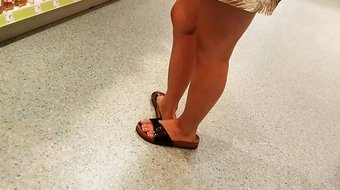 Geiles Teen in Birkenstock