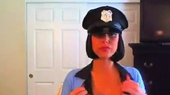 Busty And Naughty Police Officer