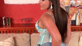 Hot housewife bound gangbang