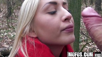 Mofos - Public Pick Ups - Cayla Lyons - Euro Blonde Has Cute
