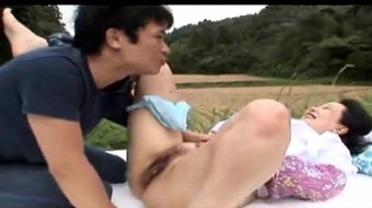 Another Fat Asian Mature Farm wife