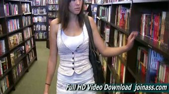 Miyu They Visit A Bookstore And Videotape Each Other