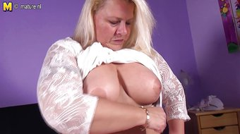 Big European mama needs a good fuck