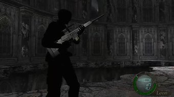 Resident evil 4-Glitch WHAT! happen to you Leon
