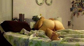 Naked Mom Grinds on Dad Spy Cam