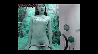 Young Teen Milks Her Small Tits & Masturbates Tight Pussy