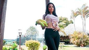CARNE DEL MERCADO - Sexy Latina Mila Garcia tastes meaty dick and gets fucked