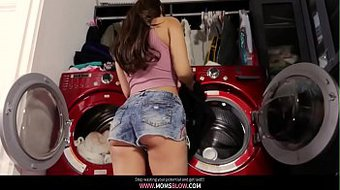 18 Year Old Latina house Wifs gets her lesson! 2