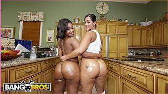 BANGBROS - Prepare To Whack Off Until Your Nuts Explode! It's Spicy J and Nina Rotti.