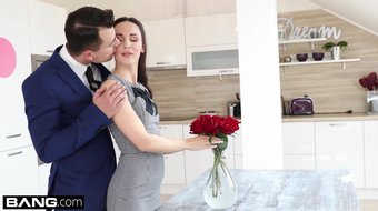 Glamkore - Lilu Moon gets a dp with her husband & friend