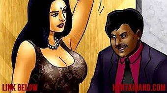 Hot Indian MILF Tutors a Virgin