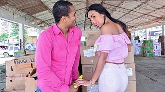 CARNE DEL MERCADO - Juicy pickup and fuck with Horny Latina amateur Yamile Duran