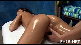 These gals get more than just a regular massage, they get fucked hard