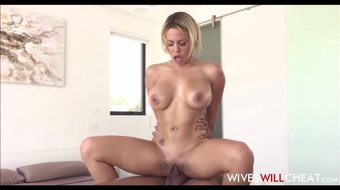 Latina Big Tits Wife Cheats On Husband With Black Masseuse