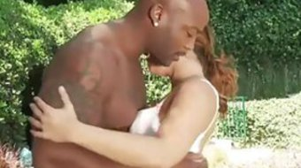 Black man was pretty brutal with Keisha Grey
