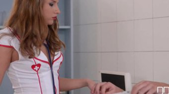 Three dicks is enough for nurse Sofi Goldfinger