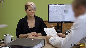 LOAN4K. When hottie needs money for business, sexuality saves her