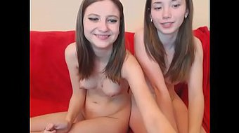 Cute Twins show me how they masturbate on line - I met her in Sxlovers.com
