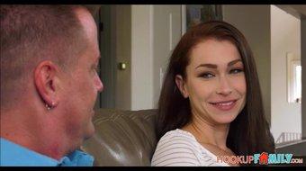 Cute College Girl Jennifer Jacobs Seduces Dad's Best Friend