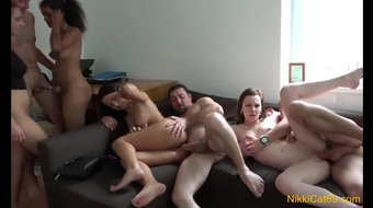 Swinger Party at the Condo Part 2