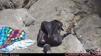 WInter Edition! -Voyeur Nudist Beach Amateur Ladies Spycam 8