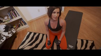 Exercising With My Mom Part 2 Helena Price