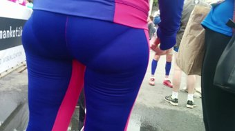 Nice ass and vpl milfs in tight pants