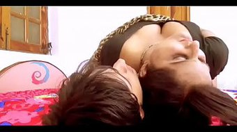 Indian bhabhi fucked her husband brother at home alone