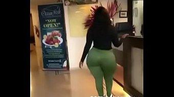 ebony big ass babe