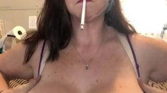 Smoking Big Tits