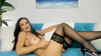 CamSoda - Lisa Ann Masturbation Big Tits Orgasm