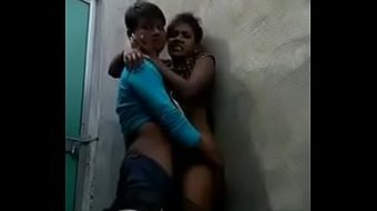 Indian lovers fucking in public washroom recorded