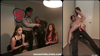 Izzy Lush And Scarlett Mae In Interrogation Penetration Part 1
