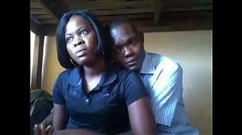 couple d'afrique centrale