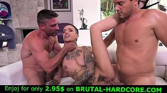 This whore loves brutal torture