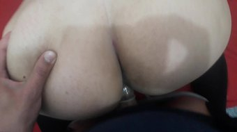 three orgasms of the wife with a stranger